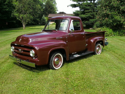 1953 ford f 100 ford trucks for sale old trucks antique trucks vintage trucks for sale. Black Bedroom Furniture Sets. Home Design Ideas