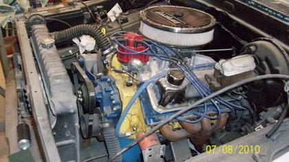 1969 Ford F100 short stepside