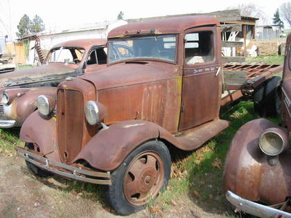1934 Chevy 1 1/2 ton
