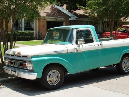 1961 Ford Custom Cab