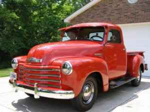 1949 Chevy 3100 series short bed pickup