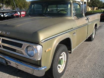 1970 Dodge D200 Camper Special Dodge Trucks For Sale