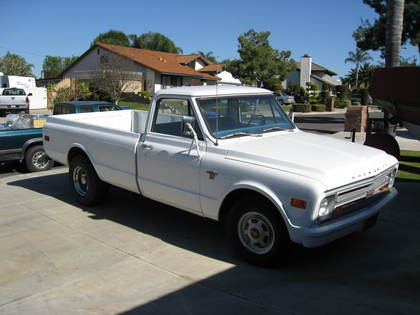 Pictures Of Old Chevy Pickup Trucks >> 1968 Chevy C20 - Chevrolet - Chevy Trucks for Sale | Old Trucks, Antique Trucks & Vintage Trucks ...