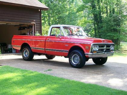 1971 GMC 4X4 Custom 1/2 ton