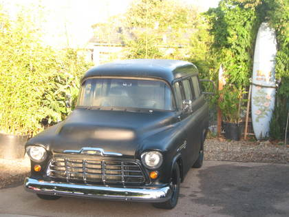 1956 Chevy Suburban Chevrolet Chevy Trucks For Sale