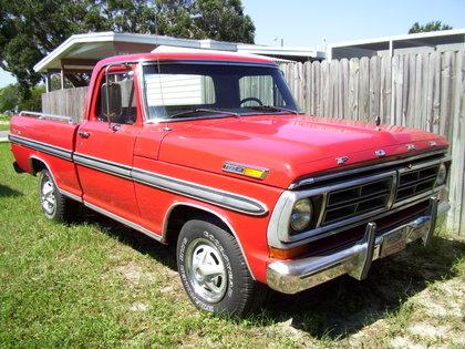 1972 Ford F100 Xlt Ford Trucks For Sale Old Trucks