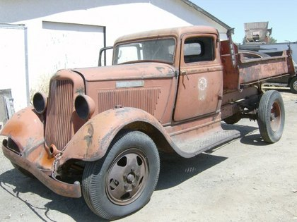 1934 Dodge Dump Truck Dodge Trucks For Sale Old Trucks