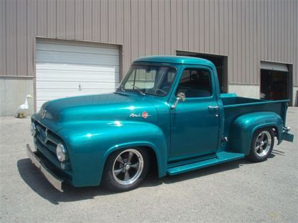 1955 Ford F 100 Ford Trucks For Sale Old Trucks