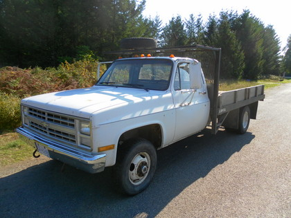 1986 chevy 1 ton 4x4 flatbed chevrolet chevy trucks for sale old trucks antique trucks. Black Bedroom Furniture Sets. Home Design Ideas