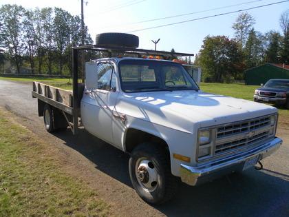 1986 Chevy 1 ton 4x4 Flatbed Chevrolet Chevy Trucks