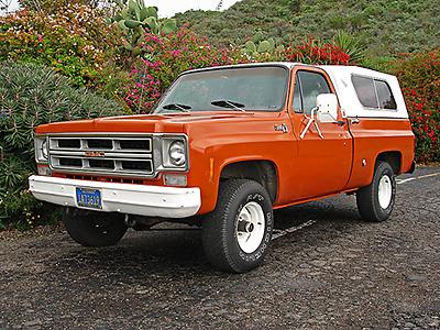 1976 GMC Sierra 4X4 K-15
