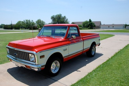 1972 chevy c10 super cheyenne chevrolet chevy trucks for sale old trucks antique trucks. Black Bedroom Furniture Sets. Home Design Ideas