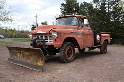 1956 chevy 3800 one ton chevrolet chevy trucks for sale old trucks antique trucks. Black Bedroom Furniture Sets. Home Design Ideas
