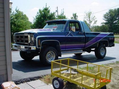 Category/gmc >> 1976 GMC K1500 High Sierra - GMC Trucks for Sale | Old