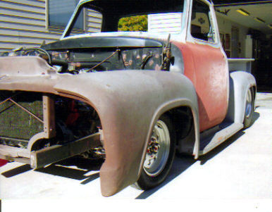 1955 Ford F100 Ford Trucks For Sale Old Trucks