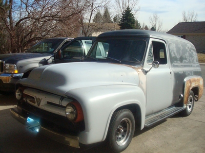 1953 Ford F100 Panel Ford Trucks For Sale Old Trucks