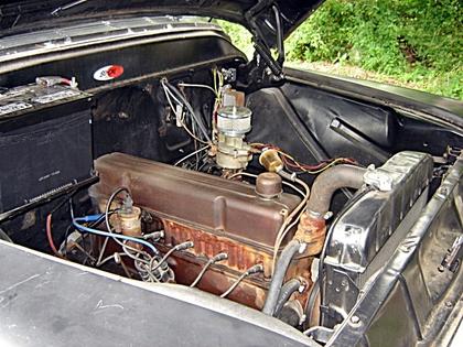 Engine on 1991 Dodge Truck Body Parts