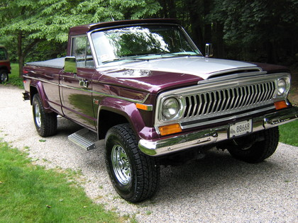 1978 Jeep J10 on 1972 gmc 4x4 interior
