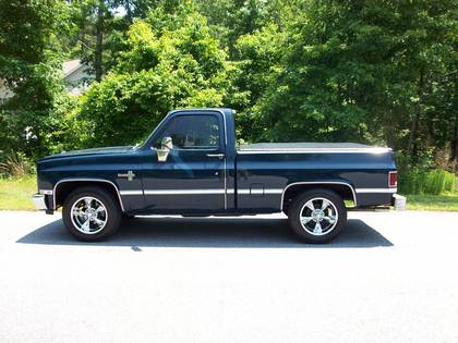 1982 Chevy C10 Silverado Chevrolet Chevy Trucks For