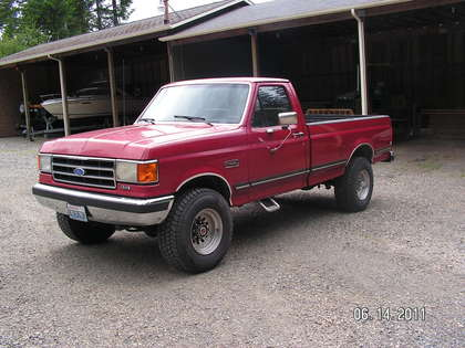 1990 Ford F 250 4 X 4 Lariat Ford Trucks For Sale Old
