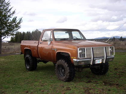 1981 Chevy shortbox 4×4