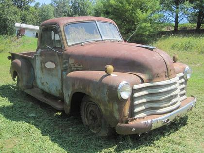 1950 chevy series 3100 chevrolet chevy trucks for sale old trucks antique trucks. Black Bedroom Furniture Sets. Home Design Ideas