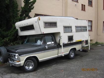 1967 Ford F100 Ranger(camper special)