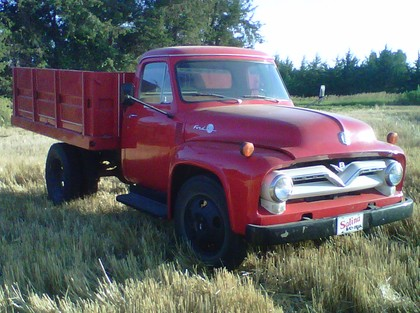 1955 Ford F500 Ford Trucks For Sale Old Trucks
