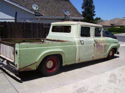 1957 ford f100 crew cab ford trucks for sale old trucks antique trucks vintage trucks for. Black Bedroom Furniture Sets. Home Design Ideas
