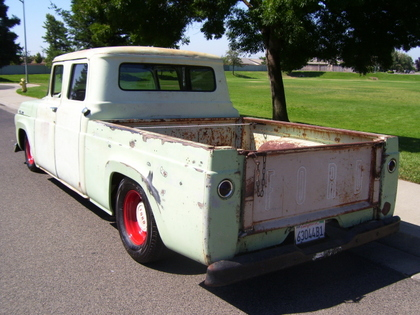 1957 Ford F100 Crew Cab Ford Trucks For Sale Old Trucks