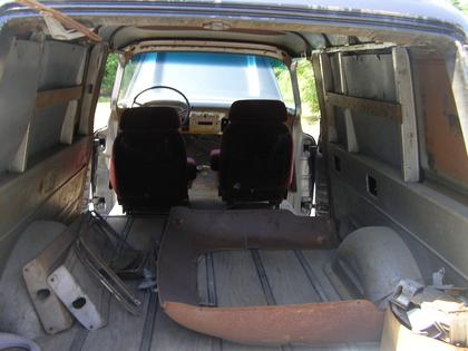 Ford Truck Restoration Parts >> 1958 Chevy apache panel truck - Chevrolet - Chevy Trucks ...