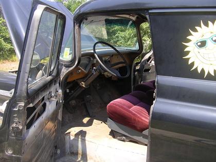 1958 Chevy apache panel truck