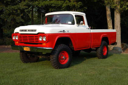 1959 Ford F100 4x4 Ford Trucks For Sale Old Trucks
