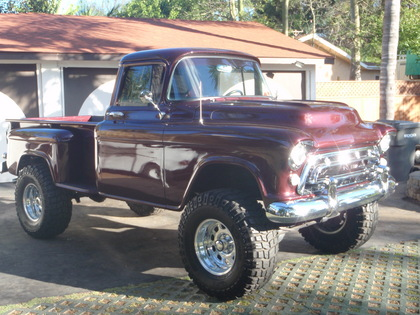 1957 chevy pick up chevrolet chevy trucks for sale old trucks antique trucks vintage. Black Bedroom Furniture Sets. Home Design Ideas