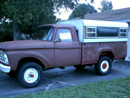 1964 Ford F-100 4x4 - Ford Trucks for Sale | Old Trucks ...