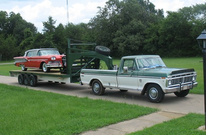 1974 Ford F250 Ranger Trailer Special