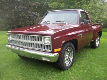 1981 Chevy Custom Deluxe C-10