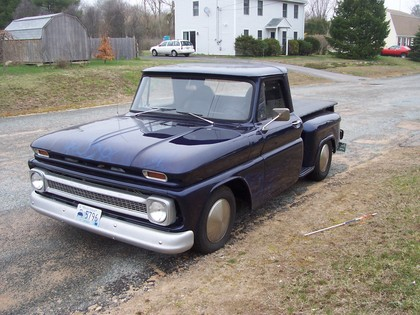 1966 Chevy C10 Step Side Chevrolet Chevy Trucks For