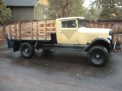 1928 Ford Model Aa Flatbed Ford Trucks For Sale Old