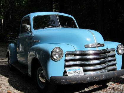 1952 chevy 1 2 ton pickup chevrolet chevy trucks for sale old trucks antique trucks. Black Bedroom Furniture Sets. Home Design Ideas
