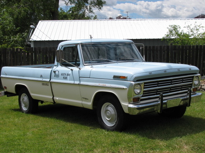 1968 Ford F250 Camper special - Ford Trucks for Sale | Old ...