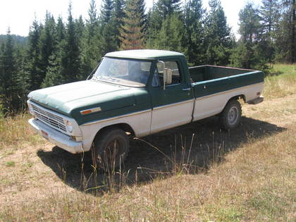 1969 ford f100 4x4 ford trucks for sale old trucks. Black Bedroom Furniture Sets. Home Design Ideas