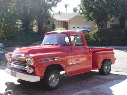 1959 chevy apache chevrolet chevy trucks for sale old trucks antique trucks vintage. Black Bedroom Furniture Sets. Home Design Ideas