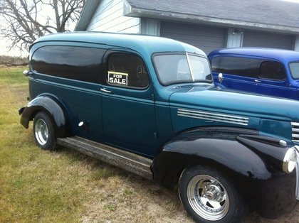 1946 Chevy Panel Truck Chevrolet Chevy Trucks For Sale