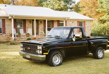 1984 chevy short wheel base chevrolet chevy trucks for. Black Bedroom Furniture Sets. Home Design Ideas