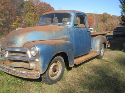 1955 Chevy series 3100 5 window cab