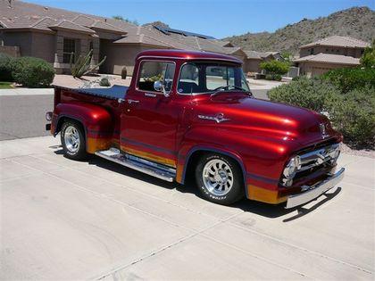 1956 ford f100 big window ford trucks for sale old trucks antique trucks vintage trucks. Black Bedroom Furniture Sets. Home Design Ideas