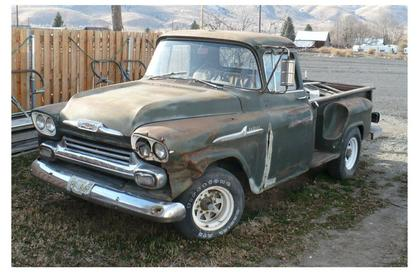 1958 Chevy 36 Apache