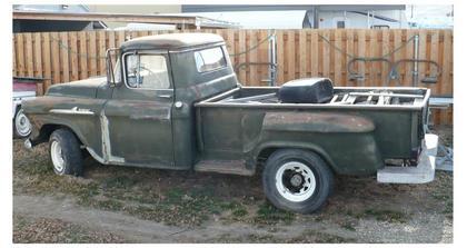 1958 Chevy 36 Apache - Chevrolet - Chevy Trucks for Sale ...