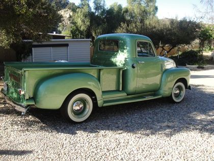 1953 Chevy 3100 Step Side Pick Up Chevrolet Chevy